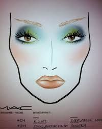 Image result for mac face charts humid deep truth
