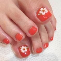31 Adorable Toe Nail Designs For This Summer - coffin #nails #nailscoffin #coffinnails