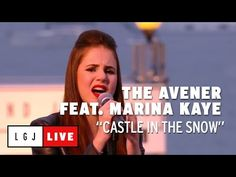 The Avener feat. Marina Kaye - Castle in the snow - Live du Grand Journal de Cannes The Avener, Marina Kaye, Cannes, Castle, Snow, Journal, Fan, Live, Youtube