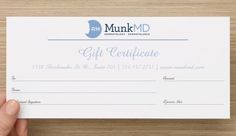 In spirit of the holidays, we are excited to announce that MunkMD gift certificates are now available for purchase! Gift your loved ones this holiday season with a certificate to use towards any cosmetic treatment at our clinic!