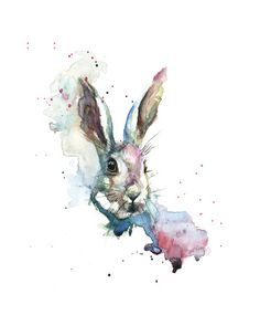 March Hare Wydruk giclee autor Sarah Stokes w AllPosters.pl