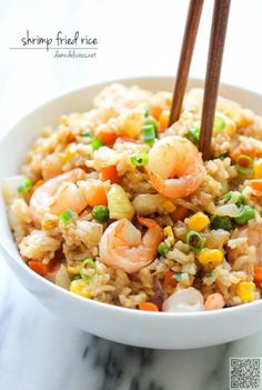 10. #Shrimp Fried Rice - 29 #Mouthwatering Shrimp Dishes for #Dinner Tonight ... → Food #Photopost