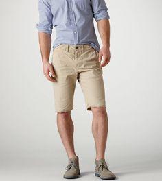 Conlan is a fan of our AE Slim Straight Cutoff Shorts