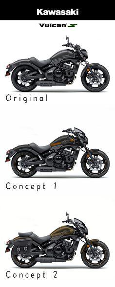 Kawasaki Vulcan S 2016 Custom Vulcan S Vulcan Cafe Racer Womens Motorcycle Helmets, Motorcycle Gear, Monster Motorcycle, Ducati Monster, Kawasaki Motorcycles, Honda Motorcycles, Vintage Motorcycles, Kawasaki Vulcan 650, Bobber