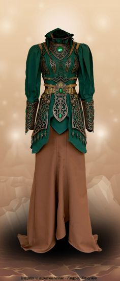 Платье номер 5. Бета версия.  Дизайн и изготовление - Андрей Канунов.