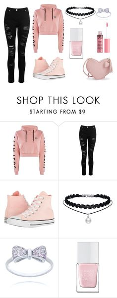 Just Chillin' by loveparis07 on Polyvore featuring Hype, Dorothy Perkins, Converse, Charlotte Russe and The Hand & Foot Spa