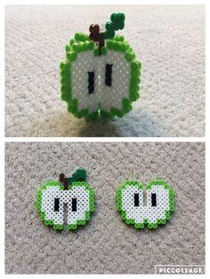 Grønt 3D æble