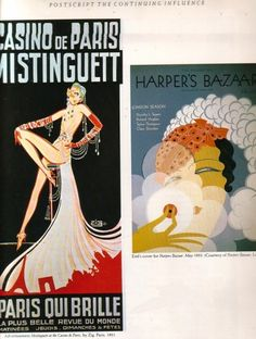 Two Art Deco posters