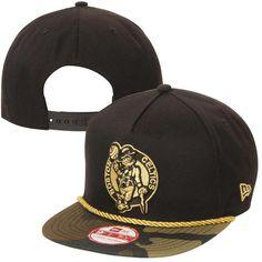 Men s Boston Celtics New Era Black Branded Floral Bucket Hat 59a0fba9d30a