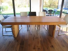 Modern Kitchen Table  Dining table rustic/modern