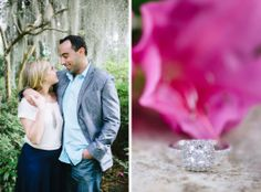 Magnolia Plantation Proposal and Engagement Session by Aaron and Jillian Photography // Charleston Wedding Photographer