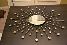 DYI - How to make this cool mirror for $26! :)