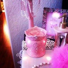 Every little girl needs a tiara warmer :) My girl just changed from the Cupcake warmer to this! :)
