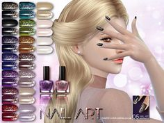Sims 4 CC's - The Best: Nails by S-Club