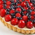 Tarta de Frambuesas y Blueberries