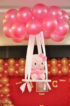 Hello Kitty Globos Decoración