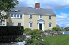 Better Options Than Purchasing a $2 Million New England Cottage | Rent.com New England Cottage, New England Style Homes, Prescott Park, House Worth, Apartment Hunting, Dormer Windows, Small Cottages, Million Dollar Homes, Cozy Fireplace
