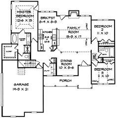 - 3628DK | 1st Floor Master Suite, Bonus Room, CAD Available, Corner Lot, Country, PDF, Split Bedrooms | Architectural Designs
