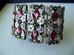 Lovely for Mothers Day gift ,  Shaby chic  Bracelet Victorian style by shoptillyoudropnow on Etsy, $50.00