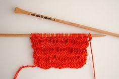 Comment tricoter le point mousse double