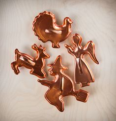 Vintage Cookie Cutters Holiday Aluminum by TheOtherLifeVintage