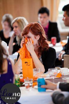 #table decor #wedding #orange #color image by Petteri Löppönen