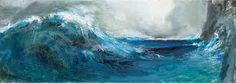 Αποτέλεσμα εικόνας για Κύματα, 2011-2014, Λάδι σε μουσαμά