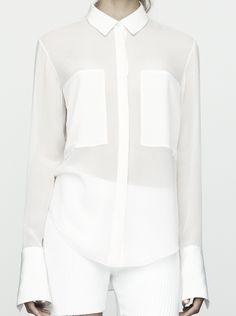 Alexander Wang | S/S 2012 love this shirt