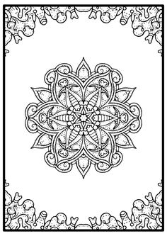 Free Mandala Coloring Pages for those who love to color free coloring pages.