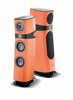 High end audio audiophile Focal Sopra speakers