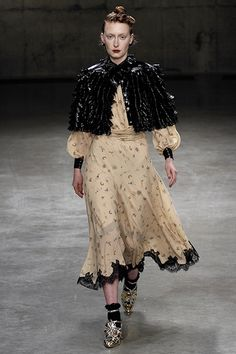@MeadhamKirchhoff Women's Fall 2013 RTW #londonfashionweek