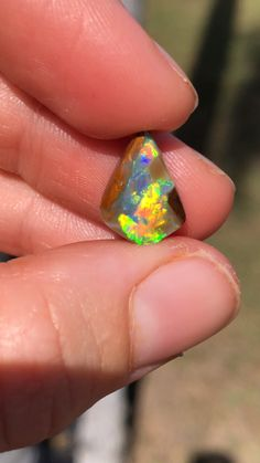 Australian Boulder Opal from Signature Opal - Mined in Jundah QLD, Australia Minerals And Gemstones, Rocks And Minerals, Crystal Shop, Mineral Stone, Rocks And Gems, Opal Jewelry, Healing Stones, Stones And Crystals, Photos