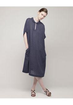 La Garçonne Moderne / Indigo Smock Dress