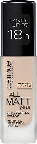 All Matt Plus Shine Control Make Up 010 | CATRICE COSMETICS - I need 4 maybe lol