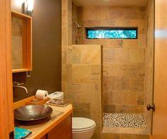 Bathroom : Modern Small Bathroom Design Ideas Image Small Bathroom Ideas and how to Decorate them Small Bathroom Decor Ideas' Small Bathroom Decorating Style' Small Space Bathroom as well as Bathrooms Small Space Bathroom, Bathroom Design Small, Bathroom Layout, Simple Bathroom, Bathroom Ideas, Bathroom Designs, Bathroom Remodeling, Remodeling Ideas, Shower Ideas
