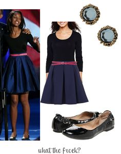 What the Frock? - Affordable Fashion Tips and Trends: Celebrity Look for Less: Malia Obama Style