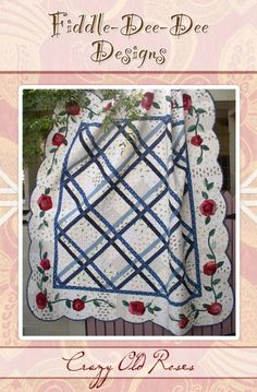 Lattice goes together in a snap... the crazy roses are fun!