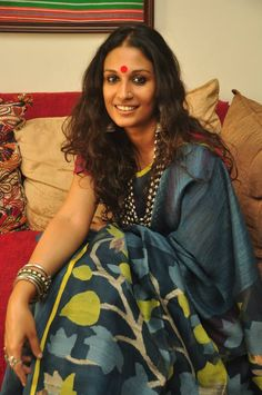 counterfashion indian brands for real people Indian Women Painting, Indian Wear, Indian Attire, Pic Pose, Pakistani Actress, Saree Styles, Woman Painting, Cotton Saree, Traditional Outfits