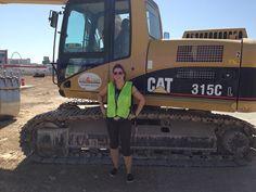 I did it in Las Vegas - Drove the big CAT!