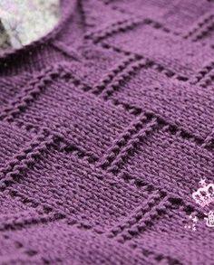 Simple knitting pattern