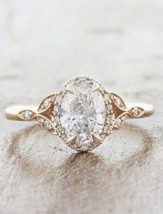 Custom Wedding Rings, Wedding Rings Solitaire, Wedding Rings Vintage, Rose Gold Engagement Ring, Engagement Ring Settings, Bridal Rings, Solitaire Engagement, Wedding Bands, Wedding Jewelry