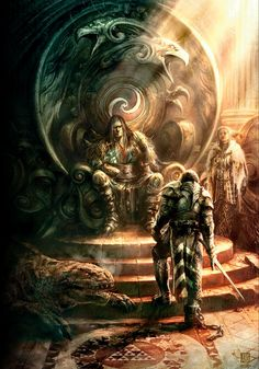 Dragonlance, Orge Titans Trilogy, The Black Talon by Aleksi Briclot