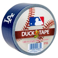 Duck 1.88 in. x 10 yds. Los Angeles Dodgers Duct Tape (6-Pack), Multi-Colored