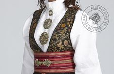 Beltestakk fra Telemark - BunadRosen AS Folk Costume, Costumes, Vikings, Norway, Traditional, Folklore, Inspiration, Cute Stuff, Cute