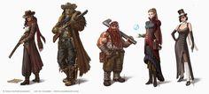 - CHARRO - fantasy illustrator: Character Art for Steam States