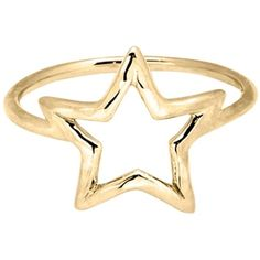 Adina by Adina Reyter Star Ring ($118) ❤ liked on Polyvore featuring jewelry, rings, accessories, gold, jewelry rings, star jewelry, 18k jewelry, 18 karat gold ring, 18k ring and adina reyter jewelry
