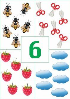 Numbers Preschool, Math Numbers, Preschool Math, Kids Learning Alphabet, Alphabet Phonics, Touch Math, Math Games, Preschool Activities, Cute Powerpoint Templates