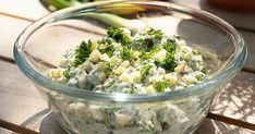 Ernst och Tinas krämiga grillsås med äpple Feta, Potato Salad, Tin, Grilling, Food And Drink, Favorite Recipes, Yummy Food, Cheese, Apple