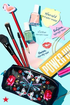 Back to school shopping isn't just about pencils and notebooks! Be sure to stock your locker with our favorite kind of supplies—makeup! Because everyone needs a touch-up between classes every now and then. Click to find beauty essentials from your favorite brands like Smashbox, essie and MAC at Macy's.