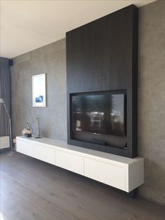 (notitle) – Regina Stimmelmayer – - Home Page Modern Tv Wall, Living Room Modern, Home Living Room, Living Room Furniture, Living Room Decor, White Furniture, Office Furniture, Living Room Tv Unit Designs, Interior Design Living Room